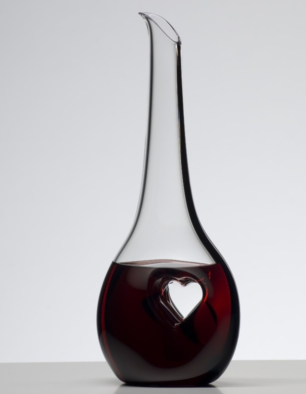 Tie Bliss Leaded Crystal Wine Decanter