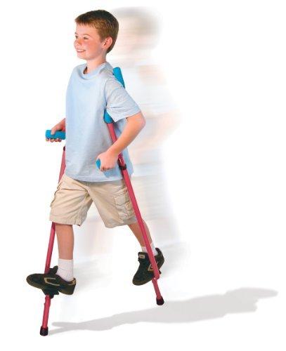 Walkaroo Xtreme Steel Balance Stilts with Height Adjustable Vert Lifters