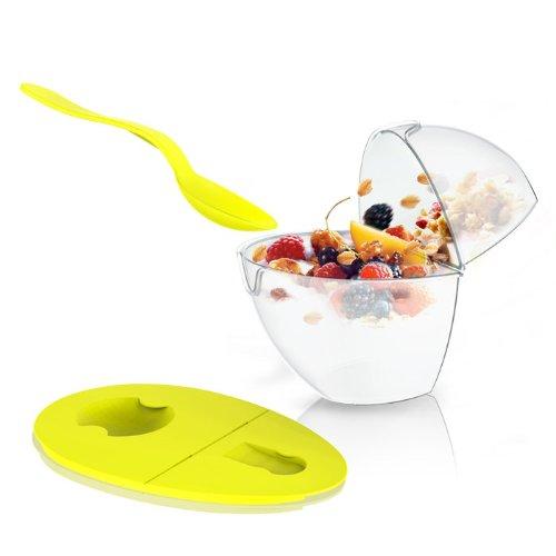Yogurt Flip NPour Container