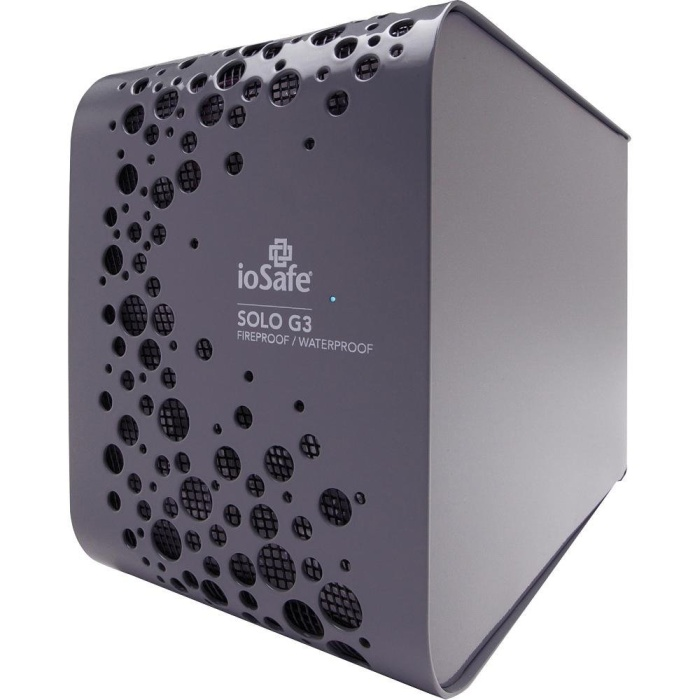 ioSafe SK3TB SOLO G3 Fireproof and Waterproof External Hard Drive 3TB