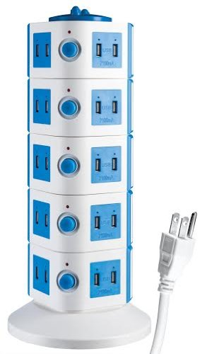 40 Port Universal USB Family Charging Tower Station