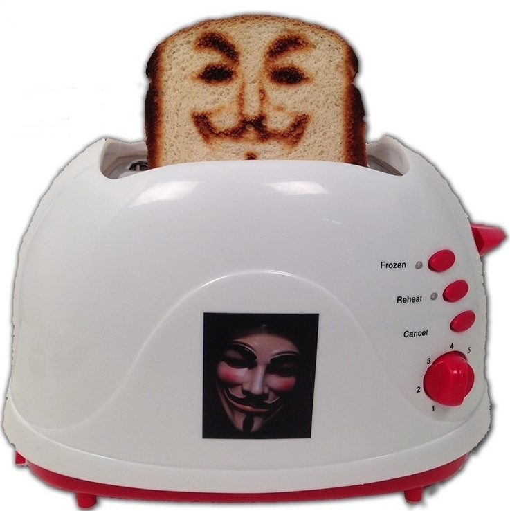 Anonymous Toaster