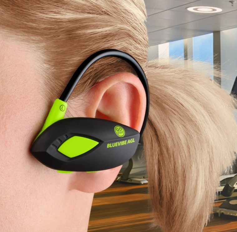 Bluetooth Sports Headset with Wireless Playback Controls