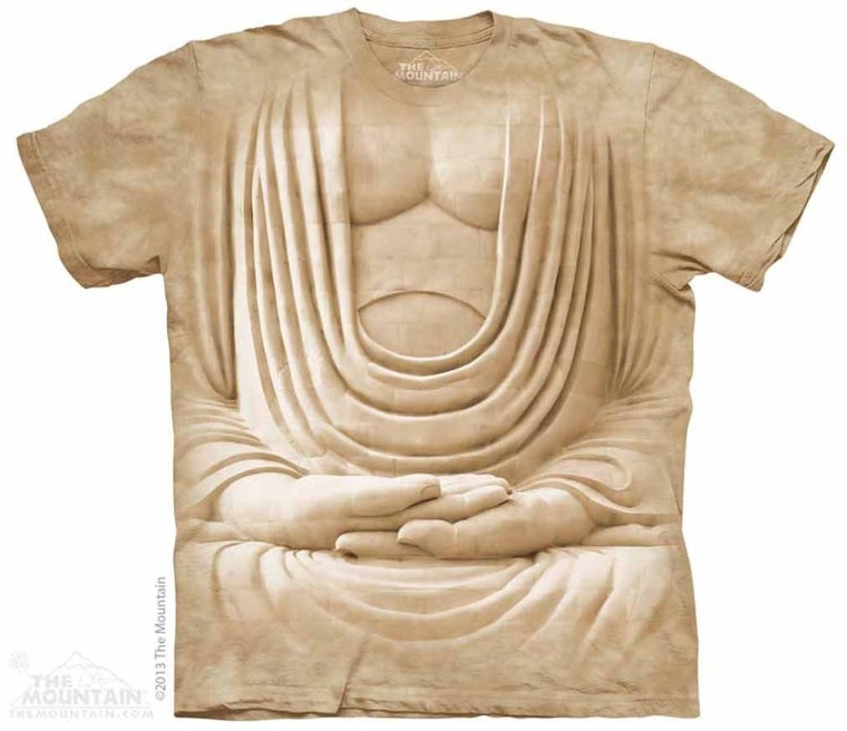 Buddha Body The Mountain Tee Shirt Adult