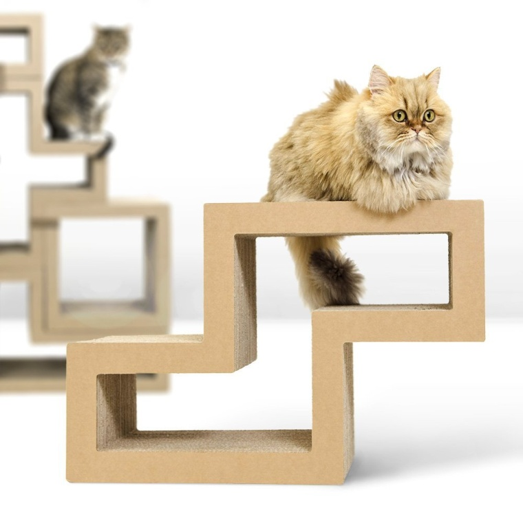 Cat Scratching Block  Modular Furniture  Cat Tree