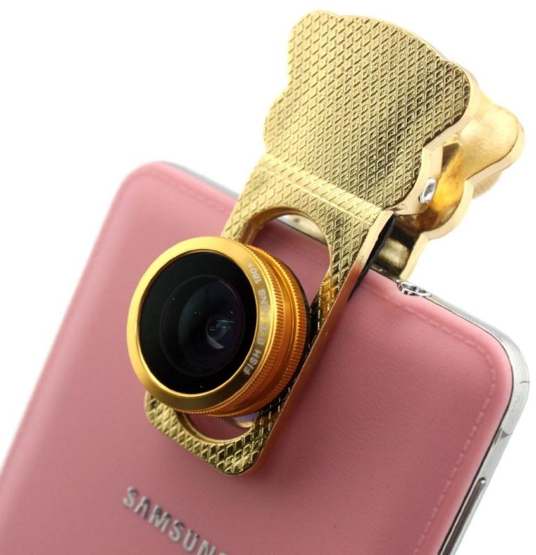 Clamp Camera Lens 3 in 1 Photo Lens Kits