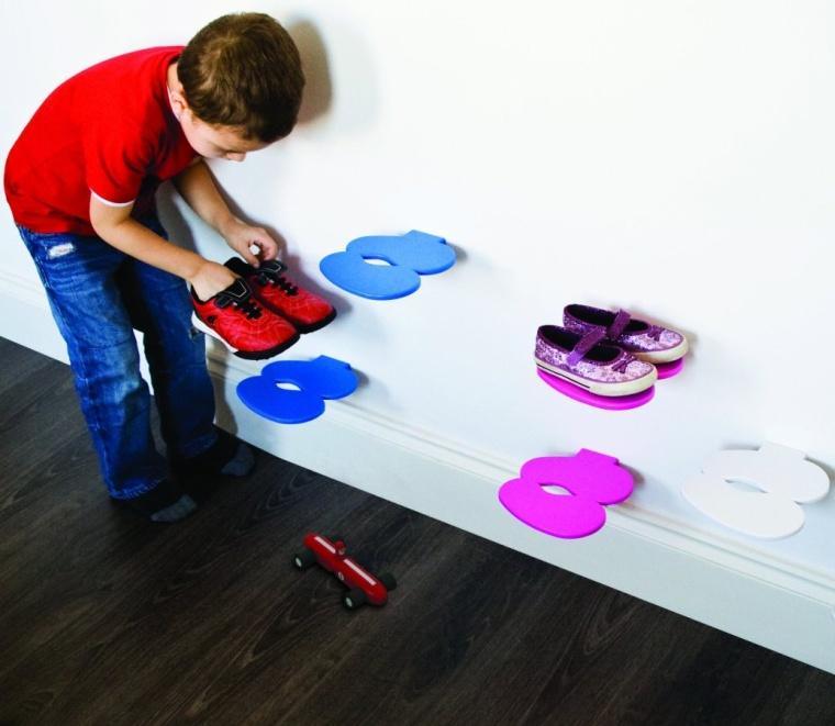 Footprint Childrens Shoe ShelfRack