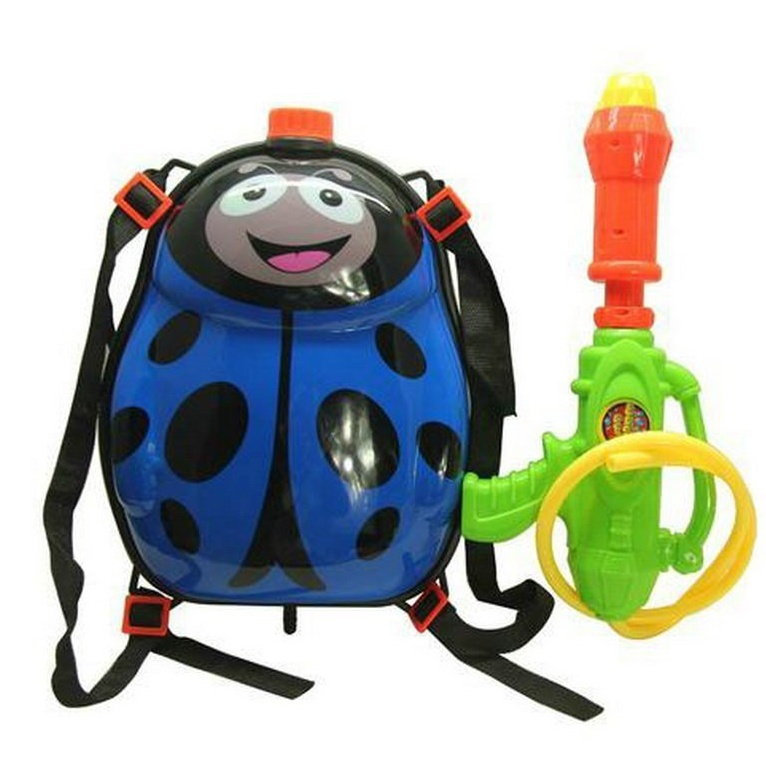 Ladybird Backpack Water Gun for Kids Pressure Pump Water Pistol