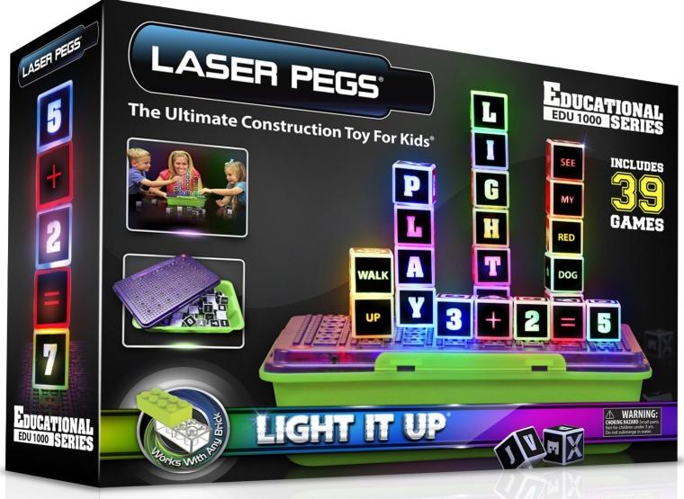 Laser Pegs Education Series Set