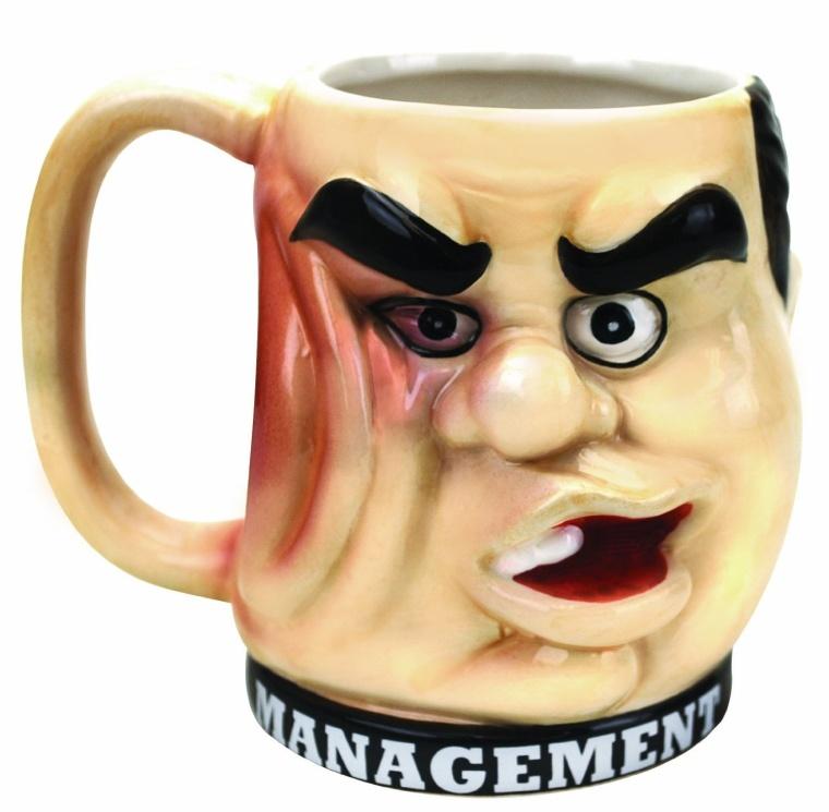 Management Punchout Mug