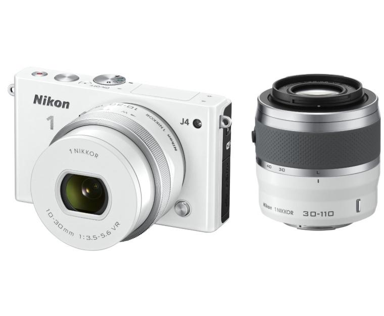 Nikon 1 J4 Digital Camera with 1 NIKKOR 10-30mm f3.5-5.6 PD Zoom Lens