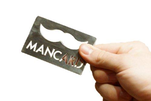 The Mancard Bottle Opener