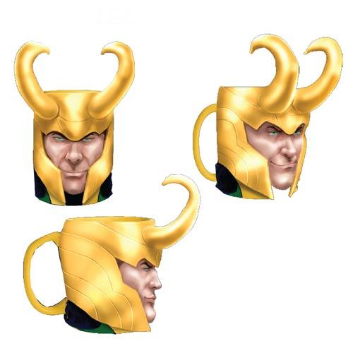 Thor Loki Marvel Molded Mug