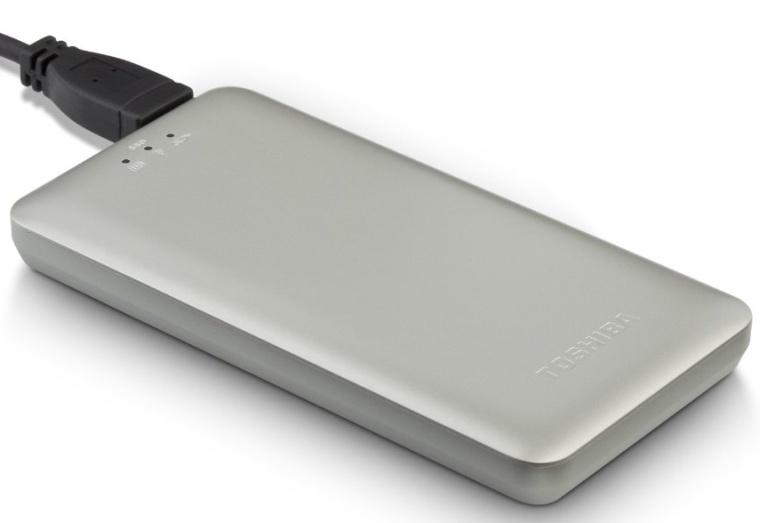 Toshiba Canvio AeroMobile Wireless SSD
