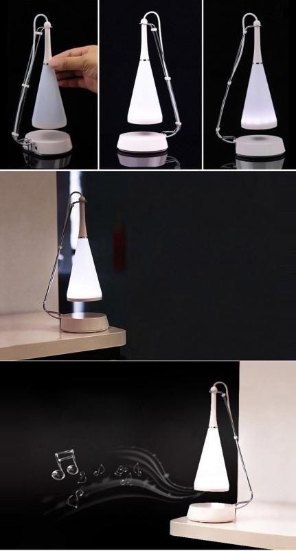 USB Touch LED Table Lamp Speaker