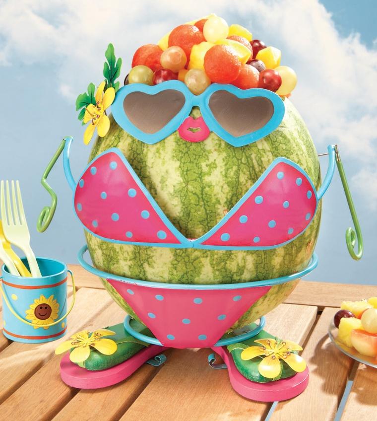 Watermelon Bikini Girl Dress Up
