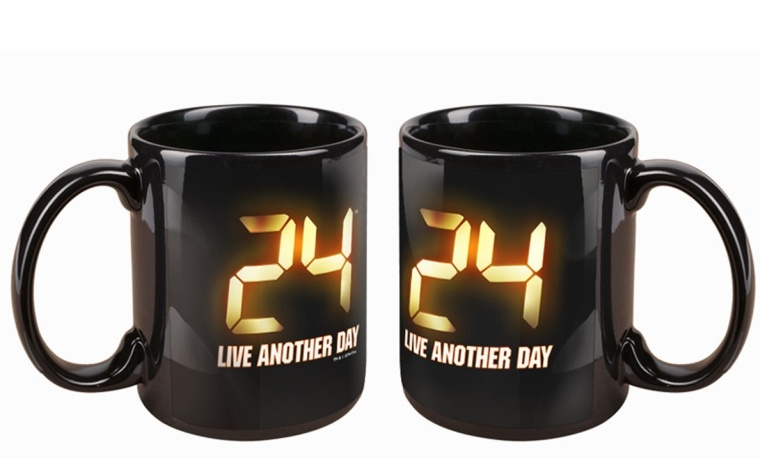 24 Live Another Day Logo Mug