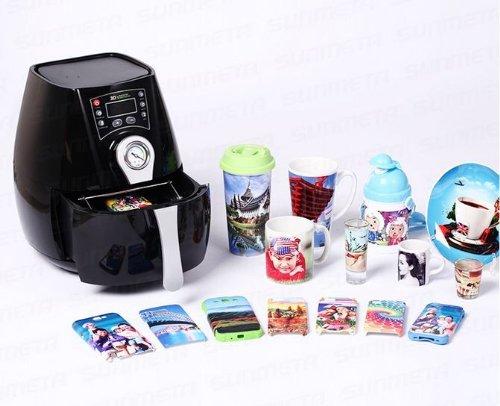 3D mini sublimation vacuum machine heat press machine for phone case and cups