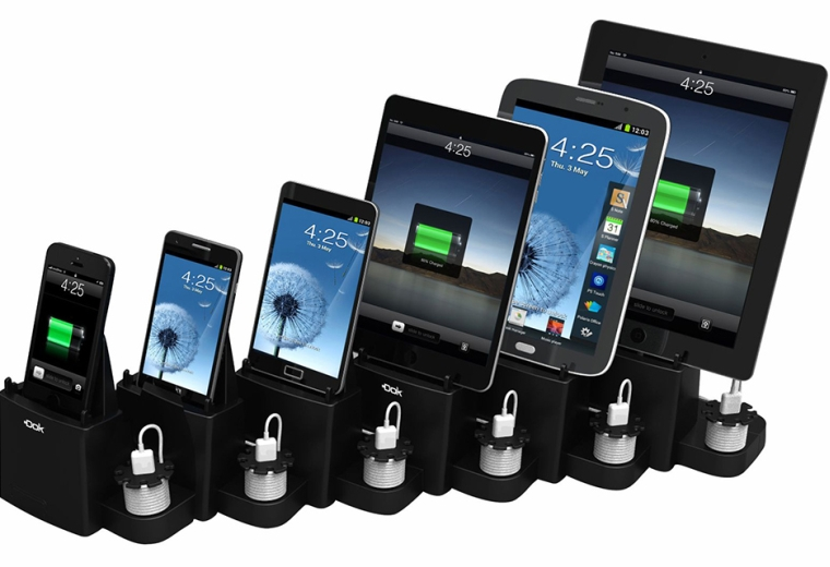 6-Port Smartphone And Tablet Charger