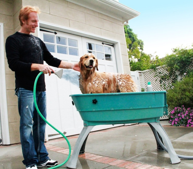 Bath Elevated Dog Wash Tub