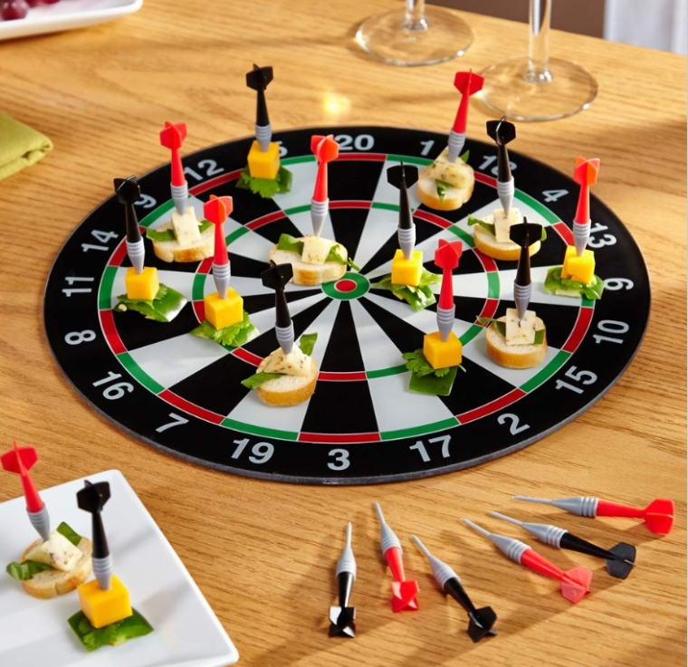 Bullseye Appetizer Serving Tray Picks