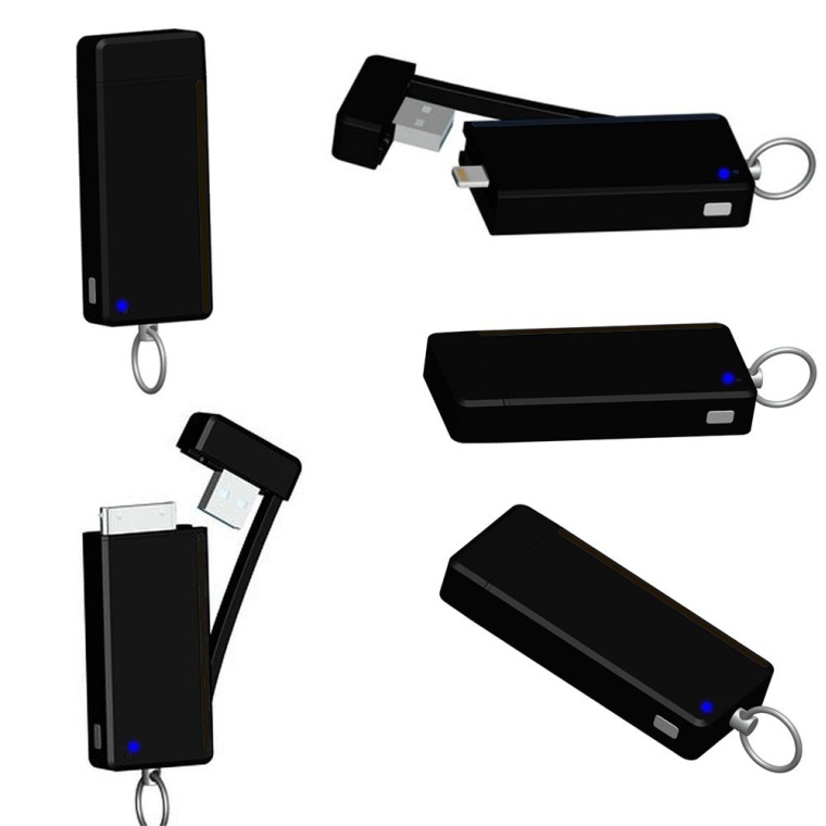 ChargeAll Portable Keychain Power Bank