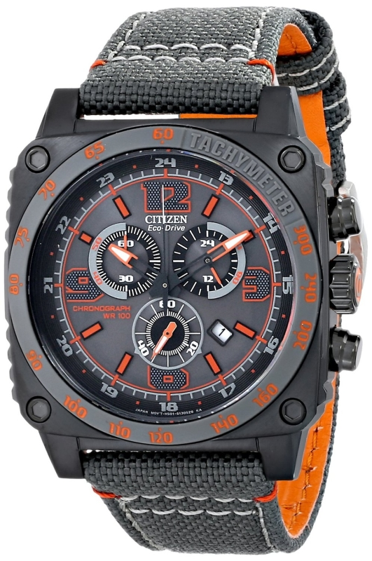 Citizen Men's AT2288-03H Drive from Citizen MFD Analog Display Japanese Quartz Grey Watch