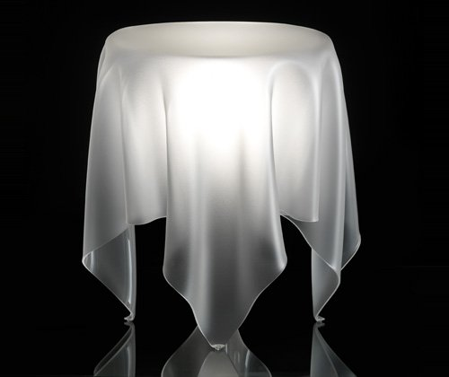 Essey Illusion Ice Side Table