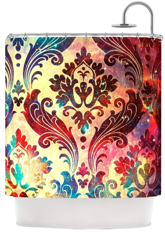 Galaxy Tapestry Shower Curtain