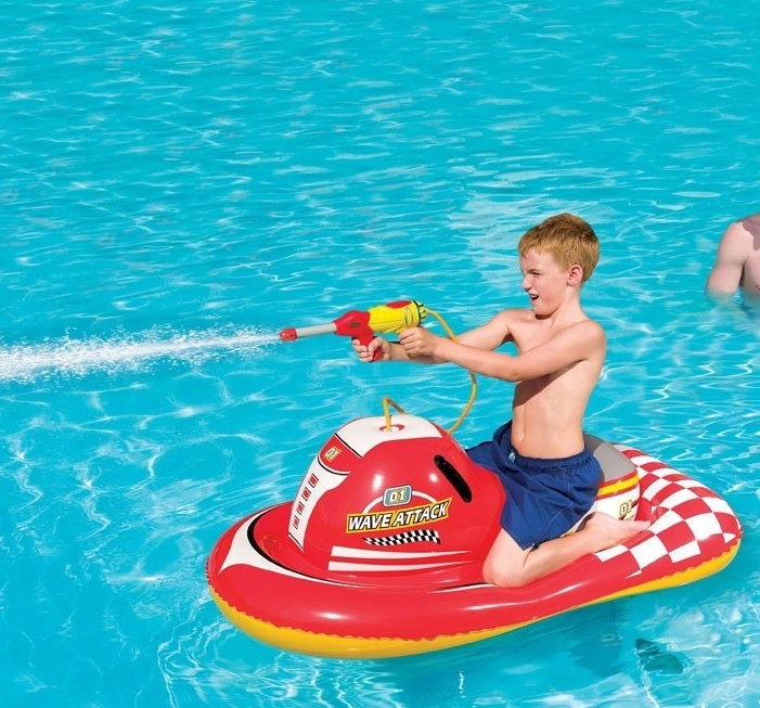 INFLATABLE CHILDRENS RIDE ON POOL