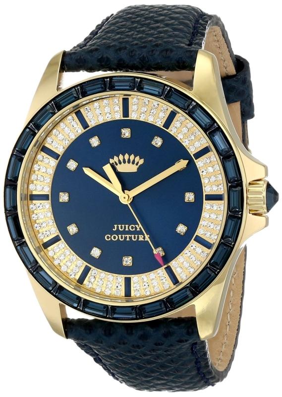 Juicy Couture Womens Quartz Blue Watch