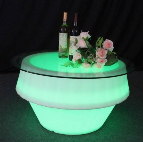 LED Waterproof Mood Lighting Coffee Table