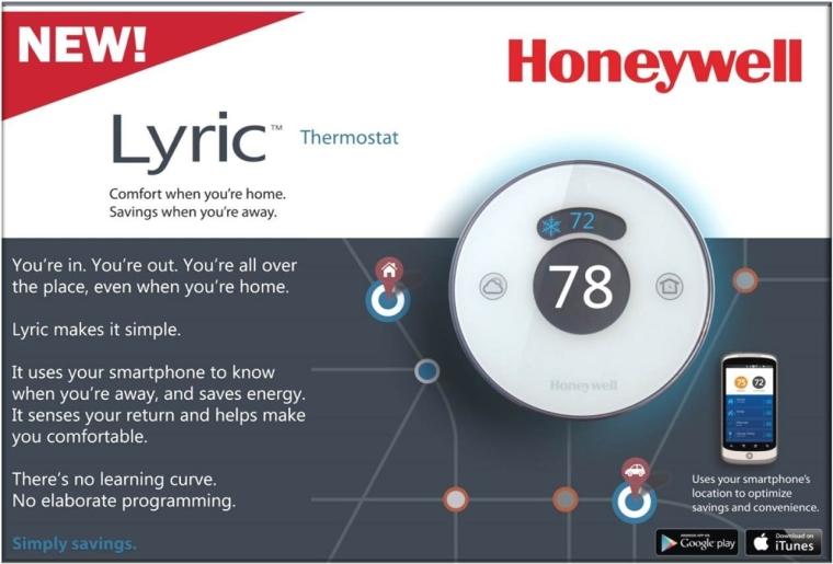 Lyric WiFi-Enabled Thermostat