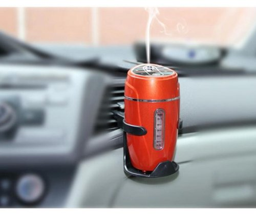 Mini Vehicle-mounted Car Humidifier Red Color