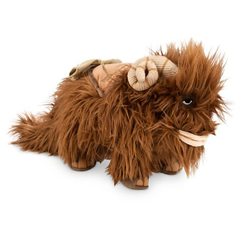 Plush Bantha Beast of Burden Mammoth Doll