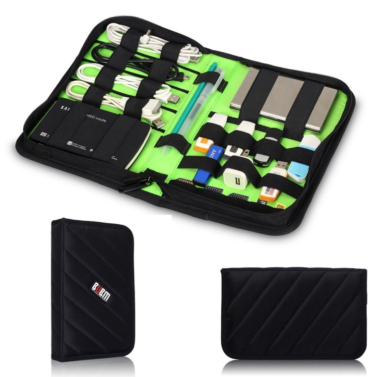 Protable Universal Electronics Accessories Travel Organizer