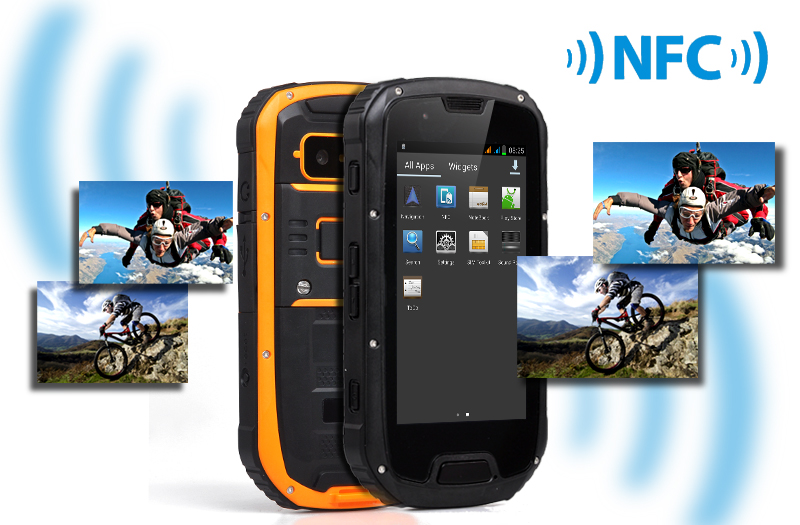 Rugged 4.3 Inch Quad Core Smartphone