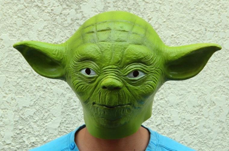 Star Wars Master Green Yoda Mask