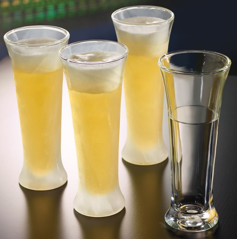 The Chill Maintaining Pilsner Glasses