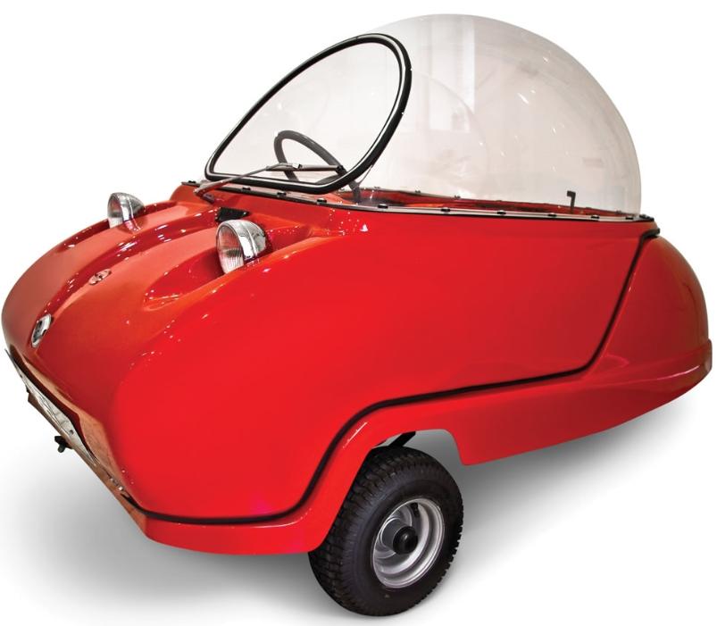 The Electric Peel Micro Car