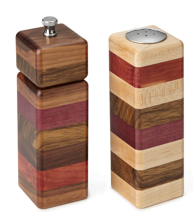 layered grinder and shaker set