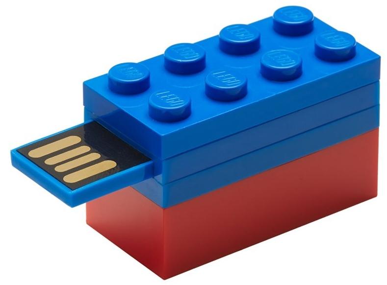 16GB Flash Drive Blue LEGO