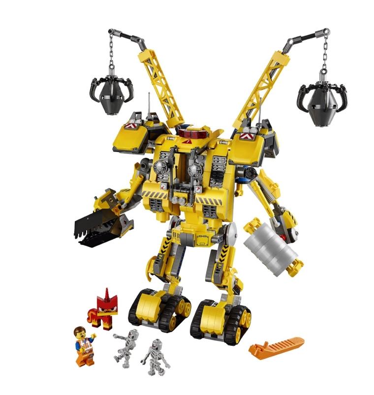 LEGO MovieEmmets Construct Mech Building Set