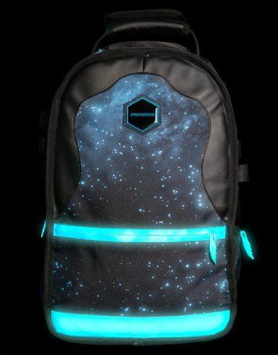 Unisex Polyester Gammaxy (Glow) Blue Backpack