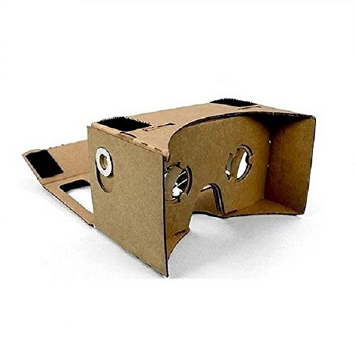 Virtual Reality Cardboard Complete Kit with NFC Tag