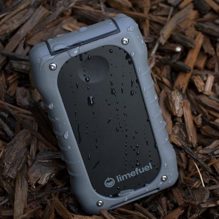 Waterproof USB External Battery Pack 15000mAh 5V4.2A Charger