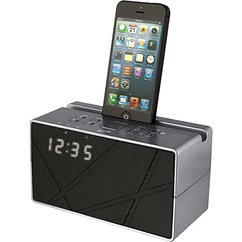 iLive Bluetooth Speaker with Clock