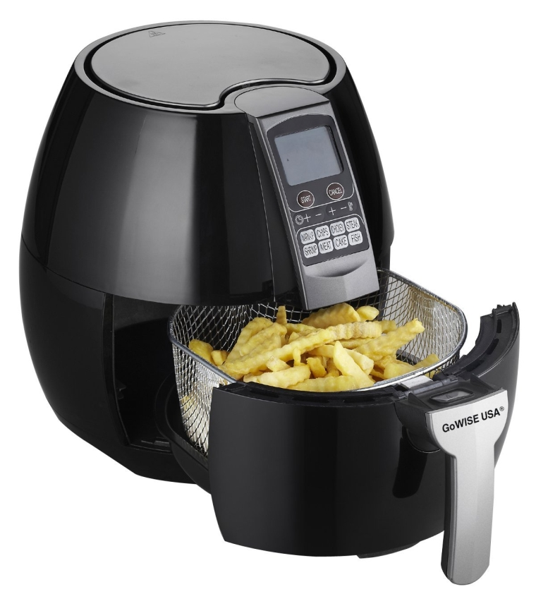 8-in-1 Electric Air Fryer with Digital Programmable Cooking Settings