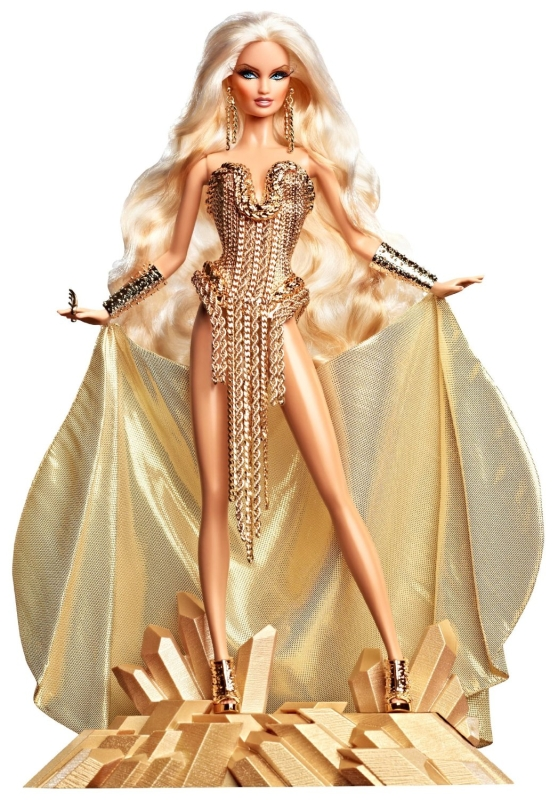 Barbie Collector The Blonds Blond Gold Barbie Doll