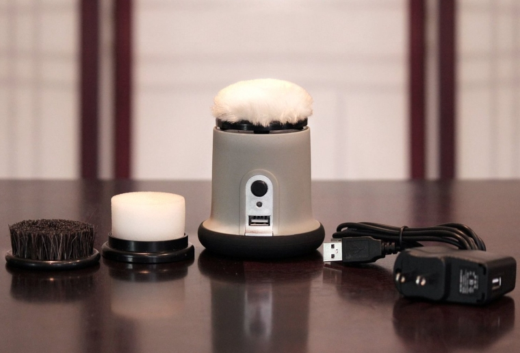 Cordless Rechargeable Shoe Polisher